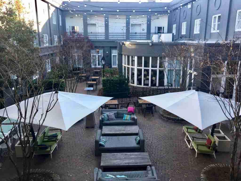 Courtyard, Brice Hotel