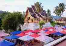 The Daily Street Market, Luang Prabang, Lao